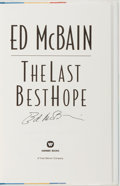 Books:Mystery & Detective Fiction, Ed McBain. SIGNED. The Last Best Hope. New York: WarnerBooks, 1988. First edition. Signed by the author on th...