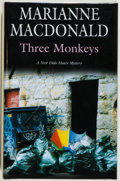 Books:Mystery & Detective Fiction, Marianne Macdonald. SIGNED. Three Monkeys. New York andLondon: Severn House Publishers, 2005. First edition. ...