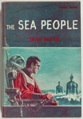 Books:Science Fiction & Fantasy, [Jerry Weist]. Adam Lukens [pseudonym for Diane Detzler]. The Sea People. New York: Avalon Books, 1959. First ed...