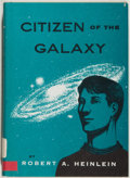 Books:Science Fiction & Fantasy, [Jerry Weist]. Robert A. Heinlein. Citizen of the Galaxy. New York: Charles Scribner's Sons, 1957. Later printin...