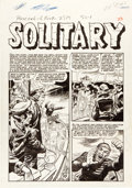 "Original Comic Art:Complete Story, Jack Davis Piracy #6 Complete 7-Page Story ""Solitary""Original Art (EC, 1955).... (Total: 8 Original Art)"