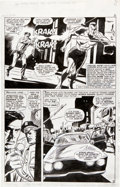 Original Comic Art:Panel Pages, Gene Colan and Dick Ayers Tales to Astonish #84 Sub-MarinerPage 3 Original Art (Marvel, 1966)....