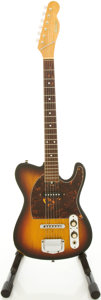 Musical Instruments:Electric Guitars, Circa 1970's Hohner Sunburst Solid Body Electric Guitar....