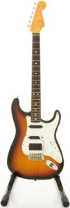 Musical Instruments:Electric Guitars, '62 Reissue Fender Stratocaster USA Sunburst Solid Body ElectricGuitar, #V053011....