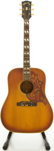 Musical Instruments:Acoustic Guitars, 1963 Gibson Hummingbird Cherry Sunburst Acoustic Guitar, #107760....