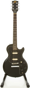 Musical Instruments:Electric Guitars, 1981 Gibson Sonex-180 Deluxe Black Solid Body Electric Guitar,#80091540....
