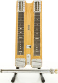 Musical Instruments:Lap Steel Guitars, 1950's Fender Double 8 Professional Refinished Lap Steel Guitar, #3295....