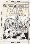 Original Comic Art:Covers, Ernie Chan Claw the Unconquered #5 Cover Original Art (DC,1976)....