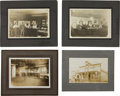 Photography:Official Photos, Four Views of the Turn-of-the-Century Oasis Saloon.... (Total: 4 Items)