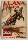 Books:Science Fiction & Fantasy, Edgar Rice Burroughs. Llana of Gathol. Tarzana: Edgar Rice Burroughs, Inc., 1948. First edition. Octavo. 317 pag...