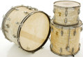 Musical Instruments:Drums & Percussion, Ludwig Keystone White MOTS Drum Set, #349279....