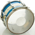 Musical Instruments:Drums & Percussion, Rogers Cambridge Blue Sparkle Marching Snare Drum, #2905....