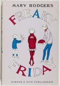 Books:Children's Books, Mary Rodgers. Freaky Friday. New York: Harper & Row,Publishers, 1972. Early edition, no indication of printing....