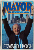 Books:Biography & Memoir, Edward I. Koch. SIGNED. Mayor. New York: Simon and Schuster,1984. First edition. Signed by the author on the ...