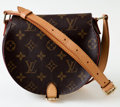 Luxury Accessories:Bags, Heritage Vintage: Louis Vuitton Monogram Canvas TambourineMessenger Bag. ...
