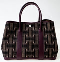 Luxury Accessories:Bags, Heritage Vintage: Hermes Tweed Garden Party Tote. ...