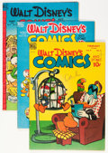 Golden Age (1938-1955):Cartoon Character, Walt Disney's Comics and Stories Group (Dell, 1949-51) Condition:Average VG/FN.... (Total: 9 Comic Books)