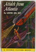 Books:Science Fiction & Fantasy, Lester Del Rey. Attack From Atlantis. Philadelphia: The John C. Winston Company, 1958. Second printing. Octavo. ...