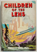 Books:Science Fiction & Fantasy, Edward E. Smith. LIMITED EDITION WITH LONG INSCRIPTION BY THEAUTHOR. Children of the Lens. Reading: Fantasy Pre...