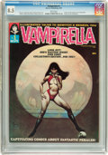 Magazines:Horror, Vampirella #1 (Warren, 1969) CGC VF+ 8.5 White pages....