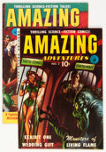 Golden Age (1938-1955):Science Fiction, Amazing Adventures #2 and 5 Group (Ziff-Davis, 1951).... (Total: 2Comic Books)