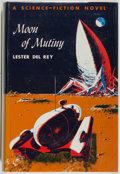 Books:Science Fiction & Fantasy, Lester del Rey. Moon of Mutiny. New York: Holt, Rinehart andWinston, 1961. First edition, first printing. Octav...