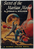 Books:Science Fiction & Fantasy, Donald A. Wollheim. SIGNED. The Secret of the Martian Moons.Philadelphia: John C. Winston, 1955. First edition,...