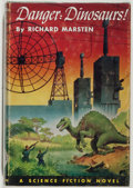 Books:Science Fiction & Fantasy, Richard Marsten [pseudonym for Evan Hunter]. DangerDinosaurs! Philadelphia: John C. Winston, 1953. First edition.O...