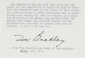 Autographs:Statesmen, Tom Bradley (1917-1998, 38th Mayor of Los Angeles). Signed Excerptfrom Bradley's July 1973 Article in Ebony Magaz...