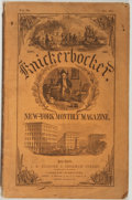 Books:Americana & American History, Group of Seven 19th Century Periodicals. 1858-1865. Includes 3issues of Harper's New Monthly Magazine; Ballou's DollarMo...