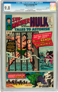 Silver Age (1956-1969):Superhero, Tales to Astonish #70 Twin Cities pedigree (Marvel, 1965) CGC NM/MT9.8 Off-white to white pages....