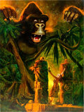 Original Comic Art:Paintings, Sanjulian (Manuel Perez Clemente) King Kong PaintingOriginal Art (undated)....