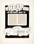 Original Comic Art:Complete Story, Robert Crumb The Heap Years of the Auto - 1946-59 3-Page Story Original Art (c. 1964-65). ... (Total: 3 Original Art)