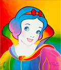 Animation Art:Poster, Peter Max Snow White Lithograph Print 383/500 (1994)....