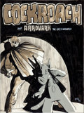 Original Comic Art:Splash Pages, Dave Sim Cerebus Cockroach and Aardvark the Grey WonderPin-Up Original Art (1979)....