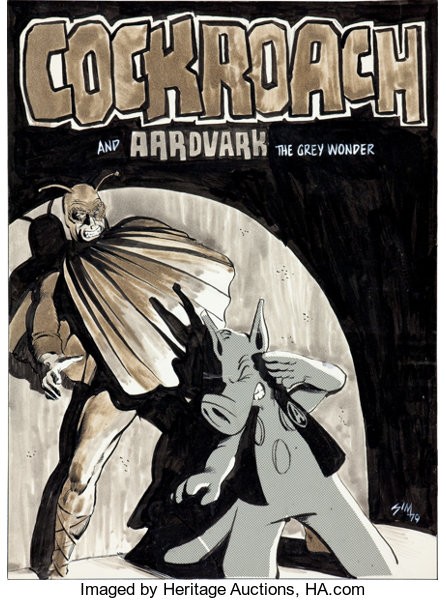 Image result for Cerebus Cockroach cover
