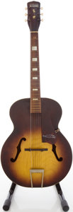 Musical Instruments:Acoustic Guitars, Circa 1950's Harmony Master Sunburst Archtop Acoustic Guitar....