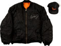 Baseball Collectibles:Others, Cal Ripken Jr. Signed Baltimore Orioles Cap and Coat....