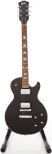Musical Instruments:Electric Guitars, 1970's Lero L.P. Style Black Solid Body Electric Guitar....
