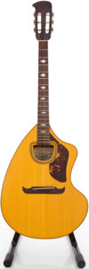 Musical Instruments:Acoustic Guitars, Circa 1970 Giannini CRA6S Natural Acoustic Guitar, #5193....