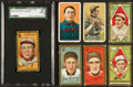 Baseball Cards:Lots, 1909 - 1911 T205 Gold Border and T206 White Border Tobacco Card Collection (7). ...