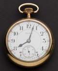 Timepieces:Pocket (post 1900), Elgin 23 Jewel 18 Size Pocket Watch. ...