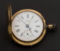 Timepieces:Pocket (pre 1900) , Pateck (Swiss) Gold 53 mm Hunters Case With Date. ...