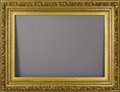Furniture: French, A French Gilded Frame. Unknown maker, France. Late Nineteenth/EarlyTwentieth Century. Gilded and carved wood. Unmarked. 5...