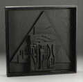 Fine Art - Sculpture, American:Contemporary (1950 to present), An American Abstract Wood Sculpture. Louise Nevelson (American,1899-1988). 1980. Painted wood. Marks: paper label on reve...