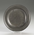 Silver Holloware, American:Plates, An American Pewter Plate . Boardman & Co., New York, New York.Circa 1820-40. Pewter. Marks: (eagle), BOARDMAN & CONEW...