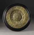 Decorative Arts, British:Other , A Victorian Electrotype Brass Charger. Possibly Elkington &Co., Birmingham, England. Circa 1875-90. Electrotype brass. Un...
