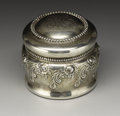 Silver Smalls:Other , An American Silver and Glass Travelling Inkwell. GorhamManufacturing Company, Providence, Rhode Island. 1900. Silver and...