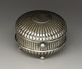 Silver Smalls:Other , An American Silver Plate Travelling Inkwell. Gorham ManufacturingCompany, Providence, Rhode Island. Circa 1880. Silver pl...
