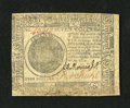 Colonial Notes:Continental Congress Issues, Continental Currency November 29, 1775 $7 Extremely Fine. A verypleasing example of this early Continental note that has bo...